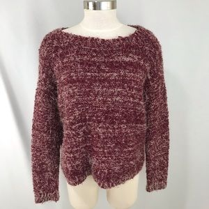 1. State Womens Fuzzy Sweater Size S
